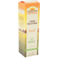 Sundown Liquid Melatonin  Cherry Flavor 2 oz [030768168360]
