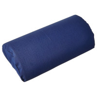 Hermell Back Half Lumbar Navy Polycotton Zippered Cover And Strap 1 Ea [091608422752]