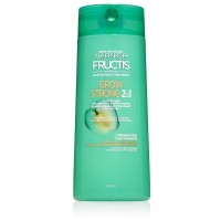 Garnier Fructis Grow Strong 2-in-1 Shampoo and Conditioner 22 oz [603084491889]