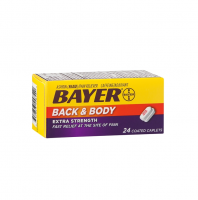 Bayer Extra Strength Back & Body Coated Caplets 24 ea [312843558540]