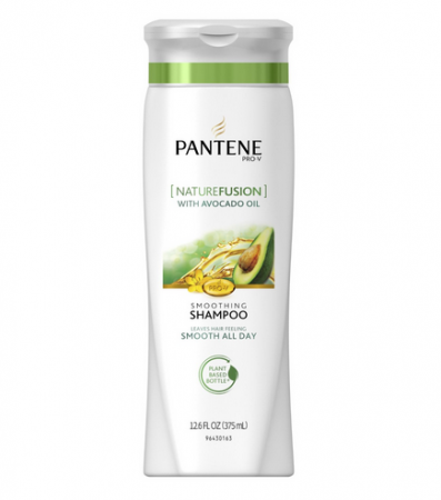Pantene Pro-V NatureFusion Smoothing Shampoo with Avocado Oil, 12.6 oz [080878040315]