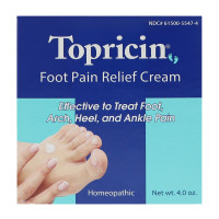 Topricin Foot Pain Relief Cream, 4 oz [609863057048]