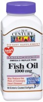 21st Century Omega-3 Fish Oil 1000 mg Softgels 90 Soft Gels [740985227312]