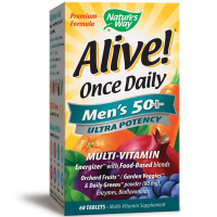 Nature's Way Alive! Once Daily Men's 50+ Ultra Potency Multivitamin 60 ea [033674156919]