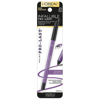 L'Oreal Paris Infallible Pro-Last Waterproof Pencil Eyeliner, Purple, 1 ea [071249357651]