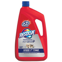 Resolve Professional Pet 2x Concentrated Carpet Cleaner Machine Solution 96 oz [019200902557]