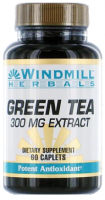 Windmill Green Tea Extract 300 mg Caplets 60 ea [035046007638]