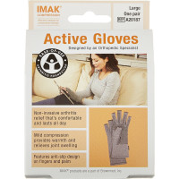 IMAK Compression Active Arthritis Gloves, Large 1 ea [649833201873]