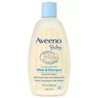 AVEENO Baby Wash and Shampoo 8 oz [381370036654]