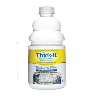 ThickIt AquaCare H2O Thickened Water Bottle Unflavored Ready to Use Nectar Consistency, 64 oz  [892125002263]