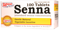 Senna  Tablets 8.6mg 100 ea [016103363089]