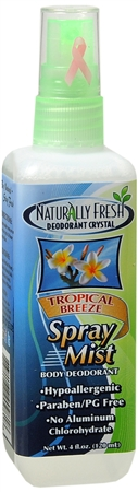 Naturally Fresh Deodorant Crystal Spray Mist Honeydew Melon 4 oz [732168909818]