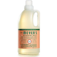 Mrs Meyers Clean Day Laundry Detergent, Geranium Scent 64 oz [808124147317]