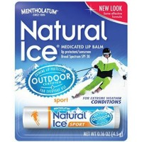 Mentholatum Natural Ice Sunscreen/Lip Protectant SPF 30 Sport 1 Each [310742018400]