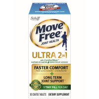 Move Free Ultra 2 in 1 with Comfort Max, Clinically Proven Joint Support 30 ea [020525986245]