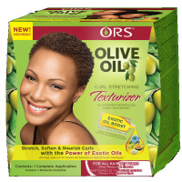 Organic Root Stimulator Olive Oil Curl Stretching Texturizer Kit 1 ea [632169111954]