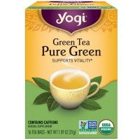 Yogi Tea Pure Green 16 ea [076950450424]