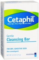 Cetaphil Gentle Cleansing Bar for Dry/Sensitive Skin 4.50 oz [302993923046]