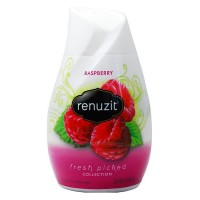 Renuzit Fresh Picked Collection Gel Air Freshener, Raspberry 7 oz [019800036676]