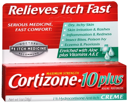 Cortizone-10 Plus Maximum Strength Anti-Itch Creme 1 oz [041167010563]