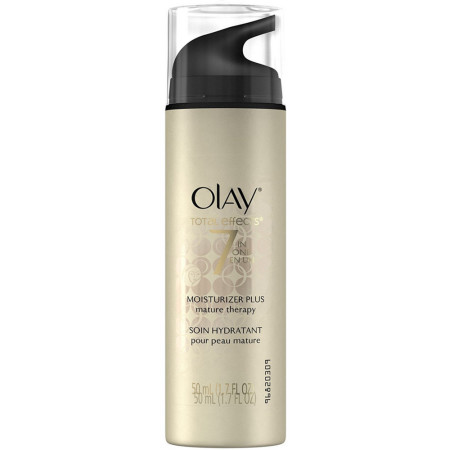 OLAY Total Effects 7-In-1 Moisturizer Plus, Mature Therapy 1.70 oz [075609018268]