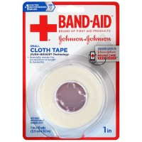 BAND-AID Small Cloth Tape, 1 In x 10 Yard 1 ea [381371161522]