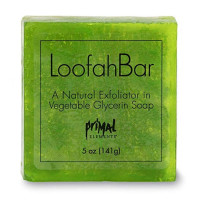 Primal Elements  Juicy Kiwi Loofah Glycerin Bar Soap 5.0 oz [640986303490]