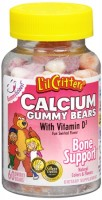 L'il Critters Calcium Gummy Bears With Vitamin D 60 Each [027917256603]