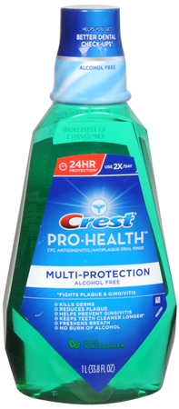 Crest Pro-Health Oral Rinse Cool Wintergreen 1000 mL [037000051015]
