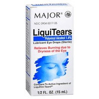 MAJOR LiquiTears Lubricant Eye Drops 0.50 oz [309045017357]