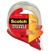 Scotch Moving & Storage Packaging Tape with Dispenser, Long Lasting 1.88 in x 38.20 yd 1 ea [051131645974]