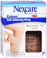 Nexcare Coban Self-Adhering Wrap 3 Inches X 5 Yards 5 Yards [051131641198]