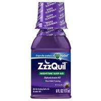 ZzzQuil Nighttime Sleep-Aid Liquid, Warming Berry 6 oz [323900013964]