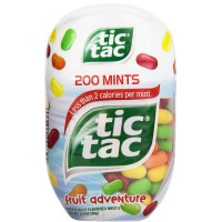 Tic Tac Mints, Fruit Adventure 200 Mints 3.4 oz [009800006304]