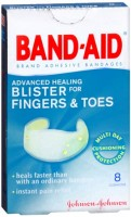 BAND-AID Advanced Healing Blister Cushions for Fingers & Toes 8 Each [381370045823]