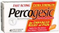 Percogesic Caplets Extra Strength 40 Caplets [375137004970]