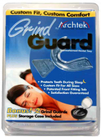 "Archtek Grind Guard Bonus with 3"" mirrored case, 2 ea [187366004306]"