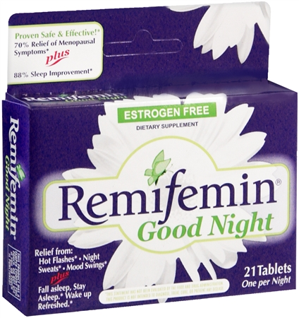 Remifemin Good Night Tablets 21 Tablets [763948074808]