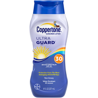 Coppertone UltraGuard Sunscreen Lotion SPF 30 8 oz [041100081834]
