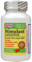 Bisacodyl stimulant laxative 5 mg tablets 100 ea [359726191005]