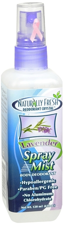 Naturally Fresh Deodorant Crystal Spray Mist Lavender 4 oz [732168909825]