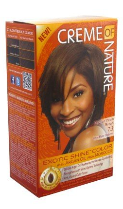 Creme Of Nature Hair Color Medium Warm Brown