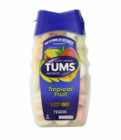 TUMS Ultra 1000 Tablets Assorted Tropical Fruit 72 ea [307660748007]