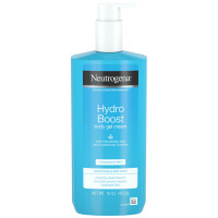 Neutrogena Hydro Boost Fragrance-Free Hydrating Body Gel Cream with Hyaluronic Acid, Fast Absorbing Cream for Sensitive Skin 16  oz [070501113448]