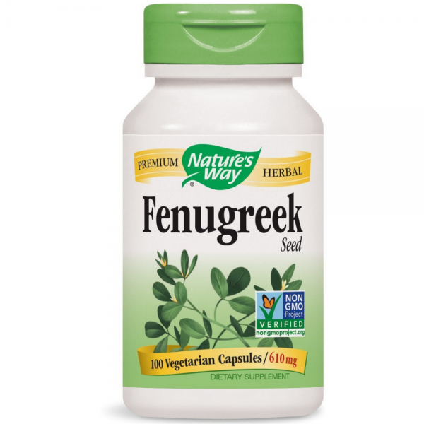 Nature S Way Fenugreek Seed  Mg Capsules Ea