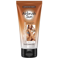 Sally Hansen Airbrush Sun Gradual Tanning Lotion, Medium to Tan 5.9 oz [074170426595]