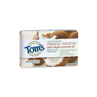 Tom's of Maine Natural Beauty Bar, Creamy Coconut, 1.35 oz [077326454848]