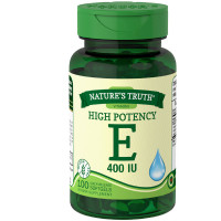Nature's Truth Vitamin E 400 Complex with Natural D-alpha 100 ea [840093102027]