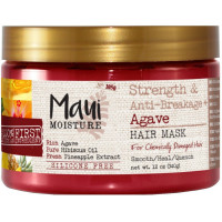 Maui Moisture Strength & Anti-Breakage + Agave Hair Mask 12 oz [022796180346]