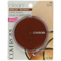 CoverGirl Clean Pressed Powder Compact, Warm Beige [145] 0.39 oz [022700122172]